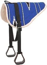 saddle pad with stirrups