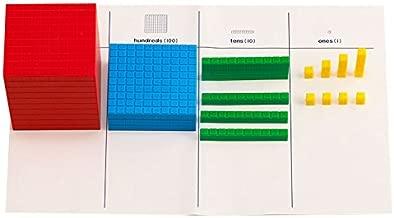 Didax Educational Resources Interlocking Base Ten Blocks