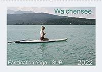 Faszination Yoga - SUP (Wandkalender 2022 DIN A2 quer): Yoga Uebungen mit SUP auf dem Walchensee (Monatskalender, 14 Seiten )
