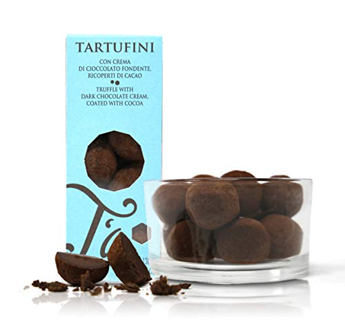 Ta Milano Trufas de Chocolate Negro Cubiertas de Cacao en Polvo - 130 gr