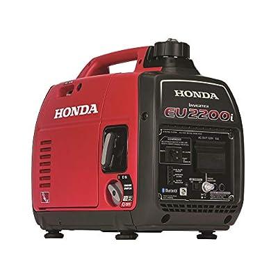 Honda EU2200iTAG 2200-Watt 120-Volt Super Quiet Portable Inverter Generator with CO-Minder