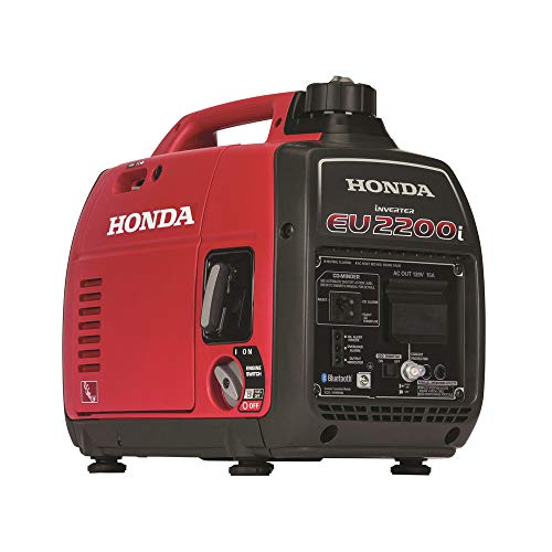 Honda EU2200iTAG 2200-Watt 120-Volt Super Quiet Portable Inverter Generator with CO-Minder