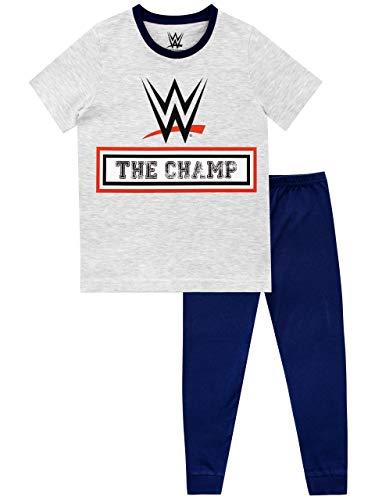 WWE Pijamas de Manga Corta para niños World Wrestling Entertainment Multicolor 11-12 Años