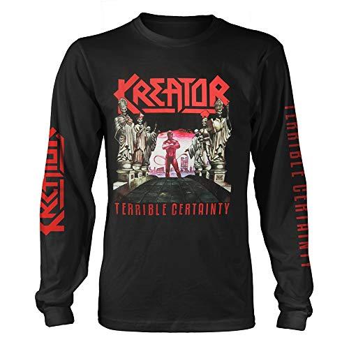 Kreator Terrible Certainty Longsleeve Oficial Camiseta para Hombre