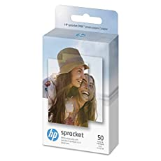 Image of the product HP Sprocket Photo Paper that is listed on the catalogue brand of HP. The product has been rated with a 4.7 over 5