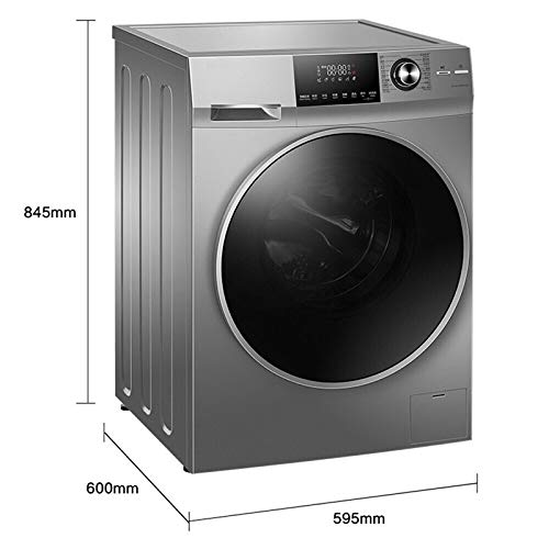 Automatische trommel-wasmachine, met föhn van 10 kg, stoomwassen, directe werking, geïntegreerde wifi, intelligent.