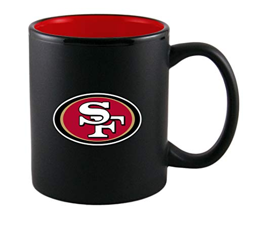 Duck House Offizielle San Francisco 49ers Tasse, Becher, Mug Two Tone Kaffeetasse