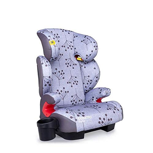 Cosatto Sumo Child Car Seat - Group 2/3, 15-36 kg, 4-12 years, ISOFIT, High Back Booster, 9 Headrest Positions, Reclines (Unicorn Land)