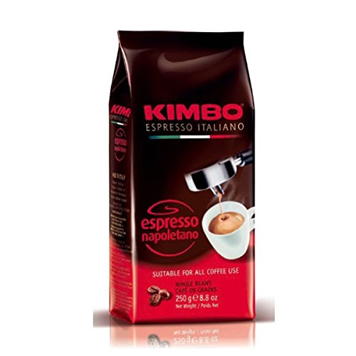Kimbo Espresso Napoletano 8.8 oz whole beans. Pack of 2