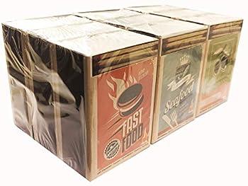 Flam'up Lot de 6 Paquets de 240 allumettes de sûreté 5cm env. Barbecue, Cuisine, Camping Motifs aléatoire