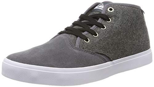 Quiksilver Herren Shorebreak Mid Sherpa - Shoes for Men Klassische Stiefel, Grau (Grey/White/Grey Xsws), 41 EU