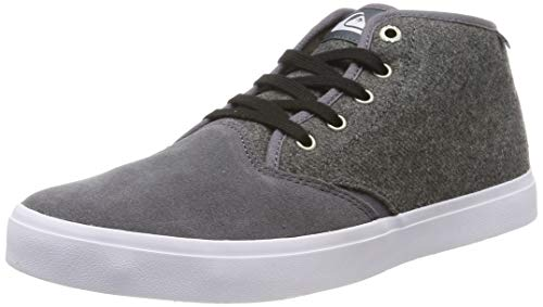 Quiksilver Herren Shorebreak Mid Sherpa - Shoes for Men Klassische Stiefel, Grau (Grey/White/Grey Xsws), 41 EU
