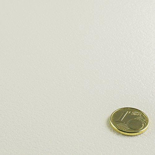 PVC Bodenbelag Einfarbig Uni Farbe wählbar (Muster DIN A4, Weiß)