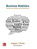 Business Statistics: Communicating with Numbers, 3rd Edition Front Cover