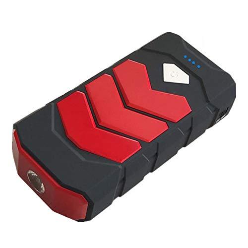 Haude Arrancador de Emergencia para AutomóVil BateríA MultifuncióN PortáTil Dispositivo de Arranque 12V Universal Rojo
