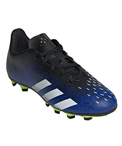 adidas Predator Freak .4 FxG J, Zapatillas de fútbol, AZUREA/FTWBLA/NEGBÁS, 31.5 EU