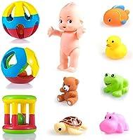 Wishkey New Born Baby Rattle Set