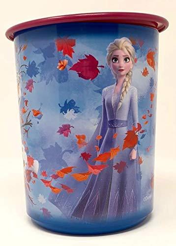 Tupper TUPPERWARE Disney Frozen ELSA Eiskönigin Mädchen Prinzessin Bingo 1,25 Liter 1250ml lila blau Kellogs Müsli Vorrat Box Behälter Kaffee