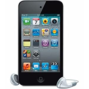 Black For Apple iPod touch 32GB (4th Generation) +Screen Protector