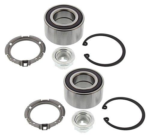 2x Radlager Satz Radlager mit integriertem magnetischen Sensorring vorne Vorderachse links rechts