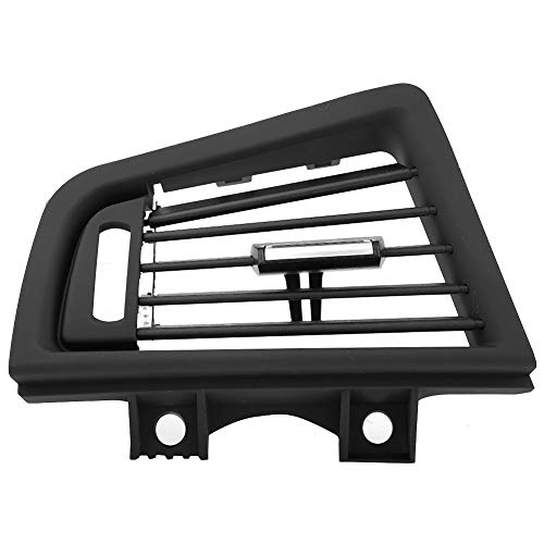 Gorgeri Auto Black Front Links Dash ABS + PC Panel airconditioning uitlaat ventilatierooster afdekking voor 5-serie F10 F18