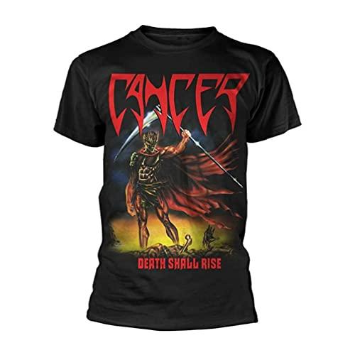 Cancer Death Shall Rise BlaT Shirt New Men T-Shirt 100% Cotton Sleeve Shirt Black XL
