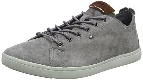 Boxfresh Herren IANPAR Sneaker, Grau (Steel Grey), 44 EU