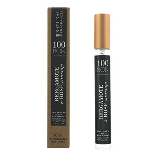 100BON 100BON Bergamote & Rose Sauvage Eau de Parfum Hervulbaar 10ml Spray