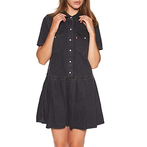 Levis Mirai Western Dress Black Sheep S