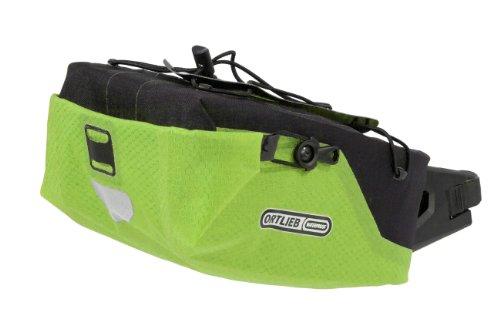 ORTLIEB Seatpost-Bag M wasserdichte Sattelstützentasche in versch. Farben, Farbe:limone-schwarz
