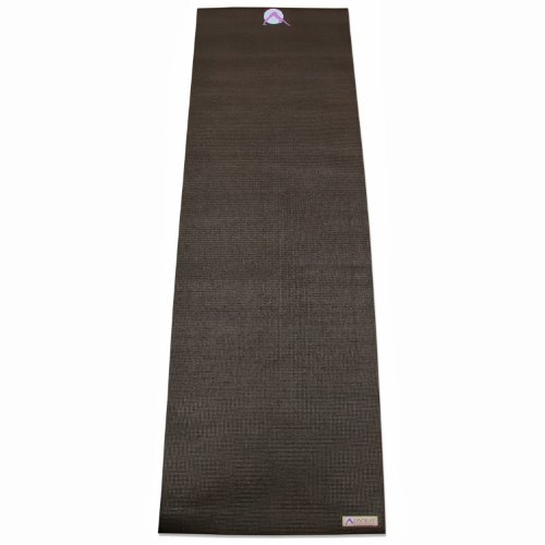 "Aurorae Classic/Printed Extra Thick and Long 72"" Premium Yoga Mat with Non Slip Rosin Included. Beginners to Pros"