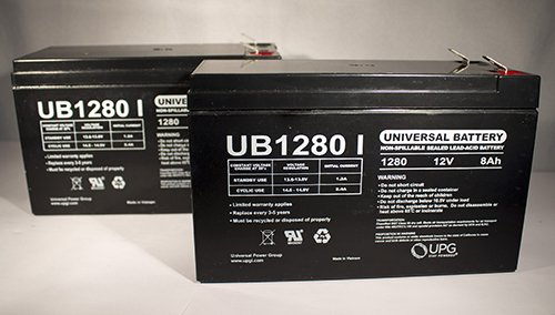 NEW 2 PACK 12V 8AH SLA Battery Replace UB1280 NP8.5-12 PS-1280 GP1280 12V BP8-12   eBay