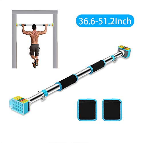 Ulalov Pull Up Bar for Doorway, Pull Up and Chin Up Bar, Upper Body Workout Bar Strength Training Pull-Up Bars with Safety Locking Catch, Heavy Duty Home Fitness Door Exercise Bar