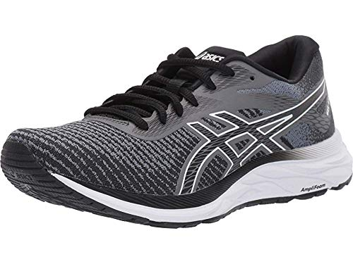 ASICS Women's Gel-Excite 6 Twist Running Shoes, 9M, Stone Grey/White