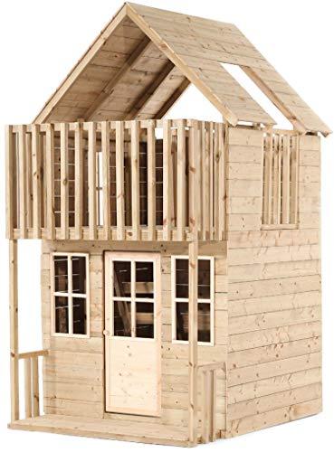 Tp Toys Maisonnette Enfant en Bois 2 étages Loft