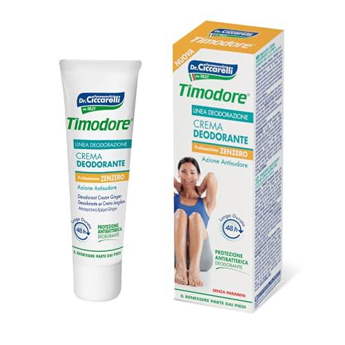 Timodore Crema Deodorante Zenzero - 50 Ml - 50 ml