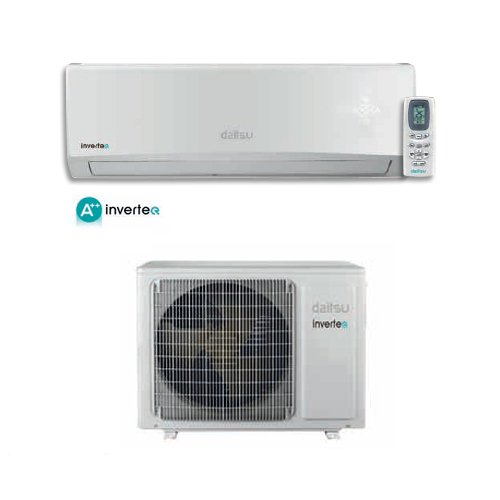 Daitsu - Climatizador, aire acondicionado con inverter Daitsu 12000 BTU, modelo ASD12UI-DN, de Fujitsu, clase energética A++