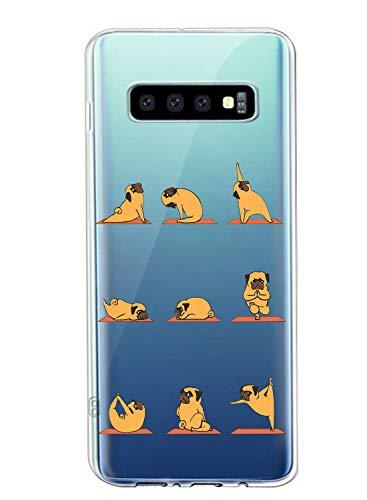 Oihxse Transparente Funda para Samsung Galaxy A5 2018/A8...