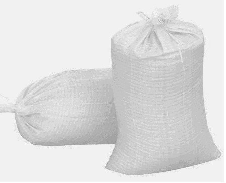 Sandbags 14 X 26 Woven Polypropylene Sand bags w/ Ties, With UV Protection. Qty of 20 Bags