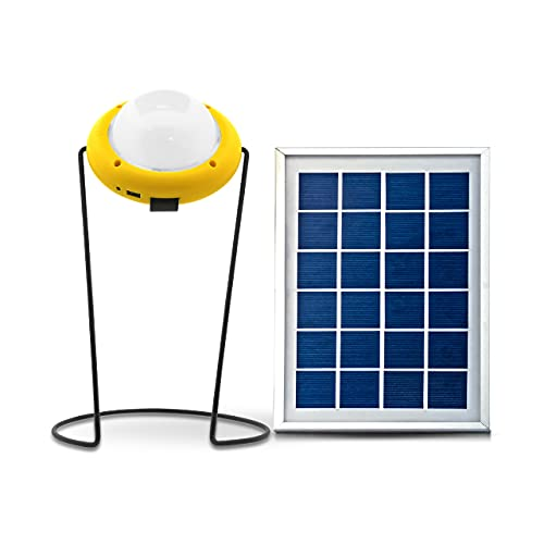 SUN KING Pro 400 Super Bright Emergency Solar Light with USB Mobile Charging