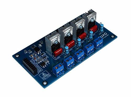 Ac Light Dimmer Controller Board 50//60hz with Heat Sink 110V-230V Compatible 50//60hz
