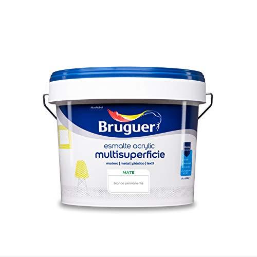 Bruguer Acrylic Multisuperficie Smaltato ad acqua Opaco Bianco Permanente 10 L