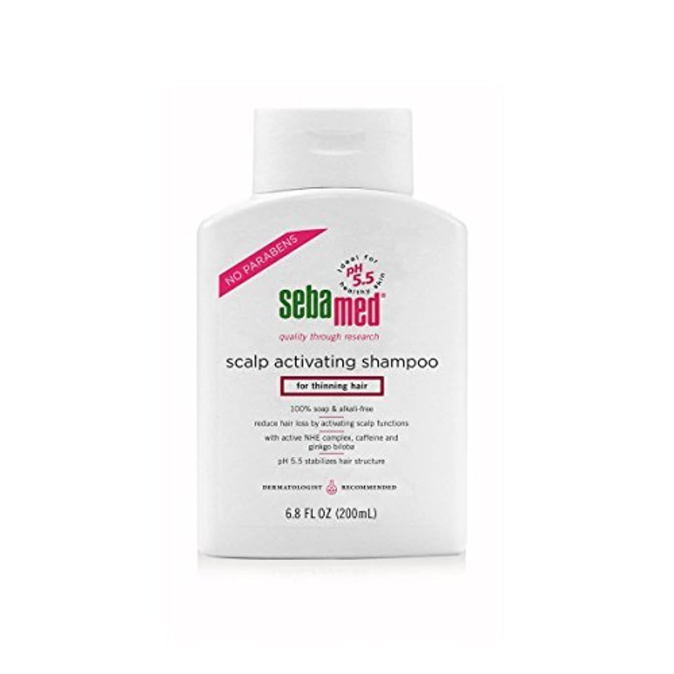 無意味結晶逆さまにSebamed Scalp Activating Shampoo for Thinning Hair, 6.8 fl. oz. [並行輸入品]
