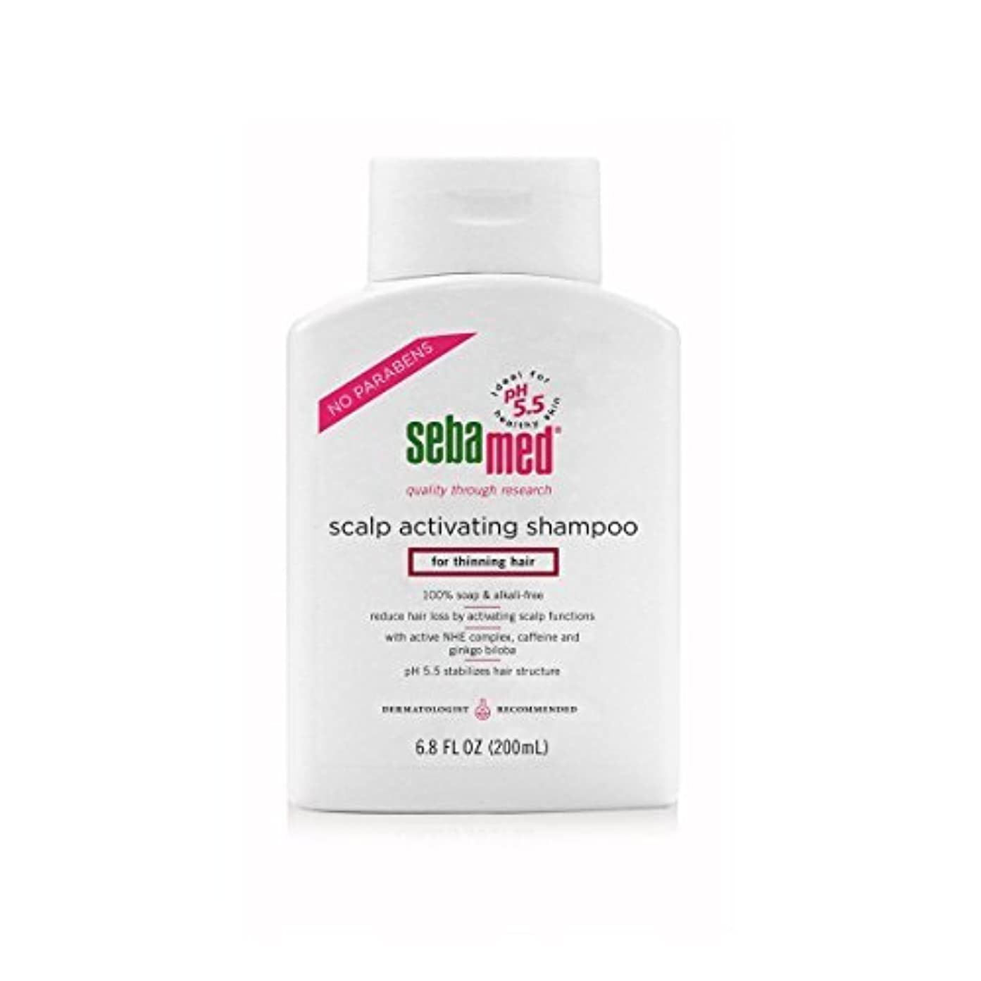 フィヨルド施設未就学Sebamed Scalp Activating Shampoo for Thinning Hair, 6.8 fl. oz. [並行輸入品]