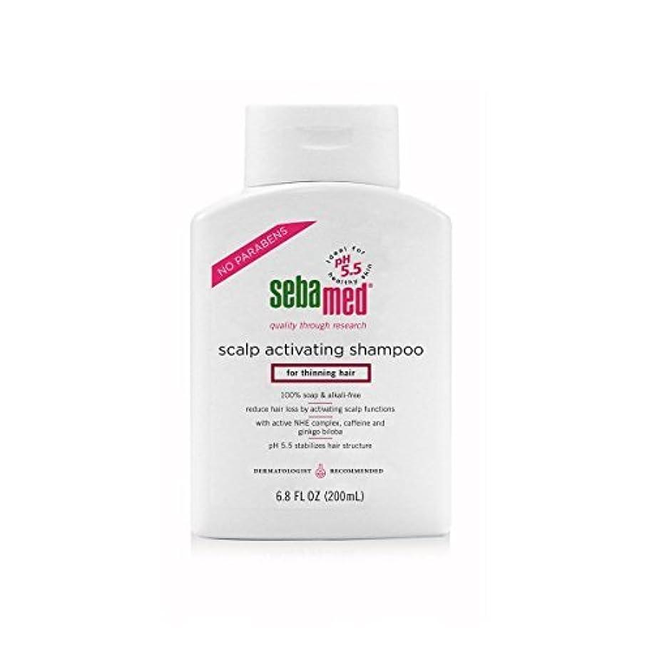 ピアノを弾く割合送るSebamed Scalp Activating Shampoo for Thinning Hair, 6.8 fl. oz. [並行輸入品]