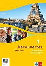 Decouvertes Serie jaune 1. Cahier d'activites 1 mit Audio-CD (MP3 fur PC), DVD mit Filmsequenzen und Ubungssoftware [French]