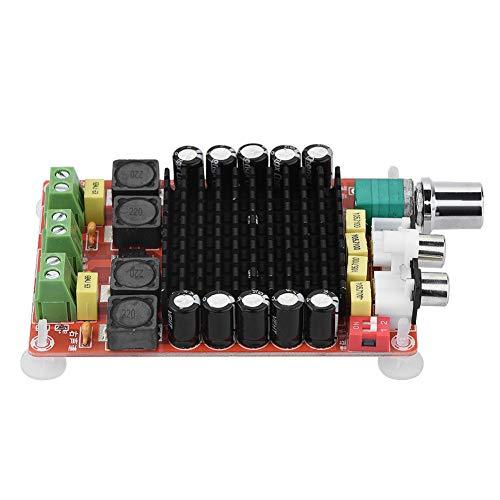 iFCOW Placa Amplificadora de Potencia Digital Amplificador de Audio de Placa Amplificadora de Potencia Digital de Potencia Ultra Alta 18-100Khz 2X100w