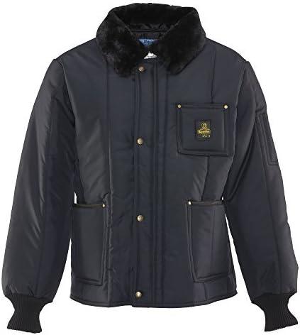 RefrigiWear Insulated Iron-Tuff Polar Jacket with Soft Fleece Collar
