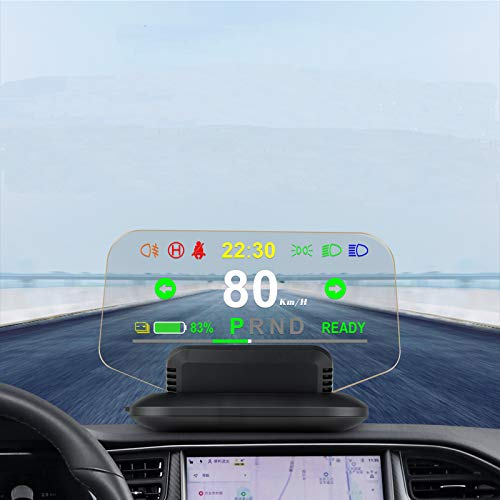 Car HUD Head Up Display Synchronize with Model 3...