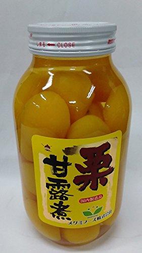 (国内原料/国内製造品)メグミフーズ 国産栗甘露煮 1100g